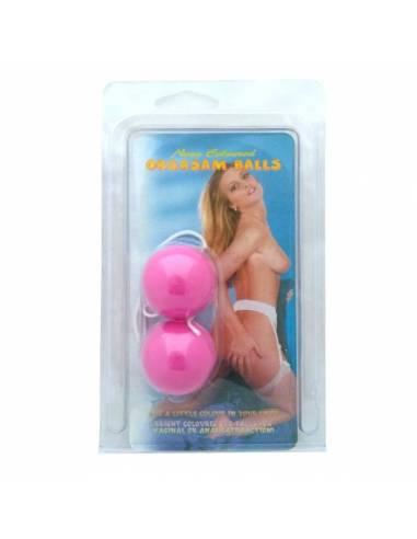 Duoballs Orgasm Balls Pink