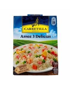 Riz Trois délices 250g Carretilla