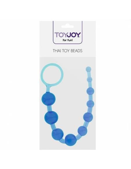 Bolas Anales Thai Toy Beads Azul bolsa