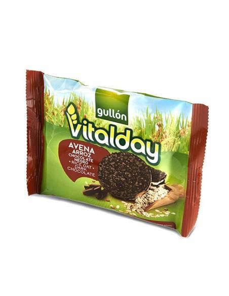 Tortita Avena, Arroz y Chocolate Negro 20,5g Vitalday