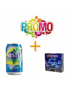 Lot Nº4 (Control Nature 3pcs. + Nestea 330ml)