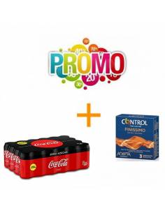 Lot No3 (Finissimo Control 3pcs. + Coca-Cola Zero 330ml)