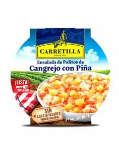Ensalada Cangrejo con Piña 220g Carretilla