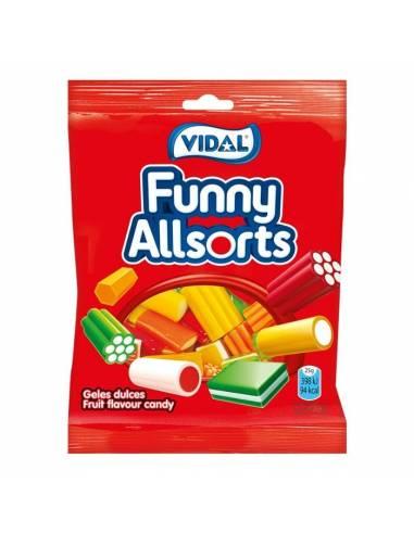 Funny Allsorts 100g Vidal