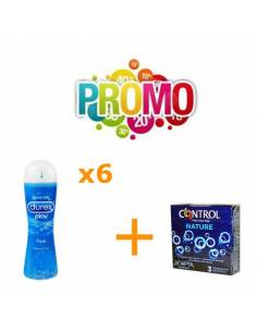 Lot No11(Control Nature 3pcs. + Lubri Durex Original 6uds.)