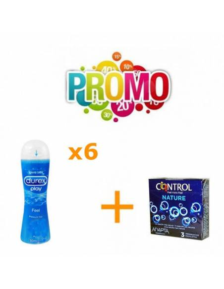 Lot Nº11 (Control Nature 3uds. + Lubri Durex Original 6uds.)