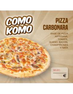 Pizza Carbonara 120g