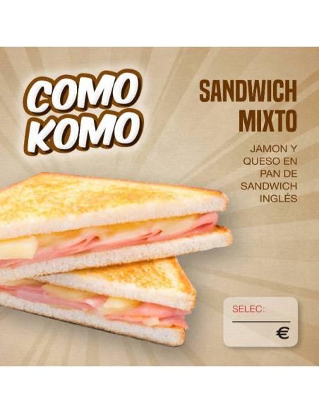 Sandwich Mixto 140g Gourmet