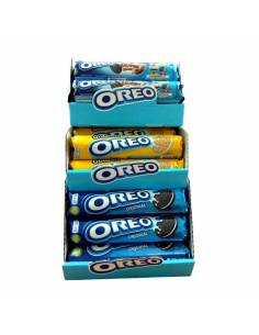 Lote Oreo Brownie + Oreo Golden + Oreo Rodillo Original 154g