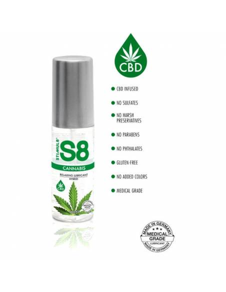 Lubricante S8 Cannabis 50ml