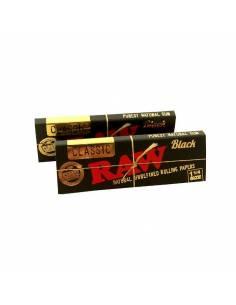 Raw Classique 1.1/4 Noir