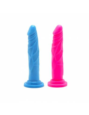 Consolador Happy Dicks 7,5 Inch Colores Surtidos 19cm