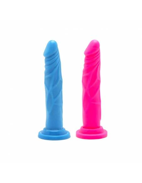 Consolador Happy Dicks 7,5 Inch Colores Surtidos 19cm S/HU