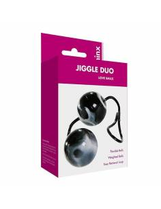 Duo Love Balls Jiggle Duo Negra