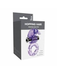 Anillo Vibrador Hopping Hare Violeta