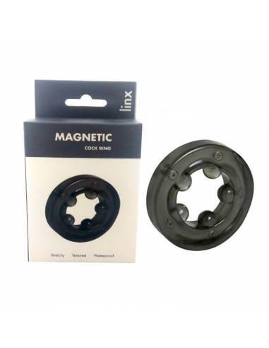 Anel Vibrador Magnético Preto