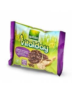 Vitalday 26.3g Riz brun et crêpes au chocolat noir
