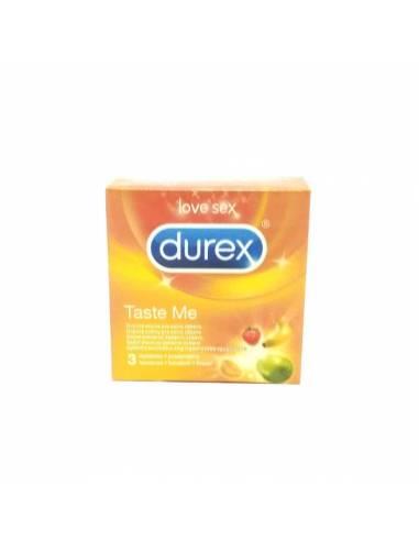 Durex frutas 3 unid.