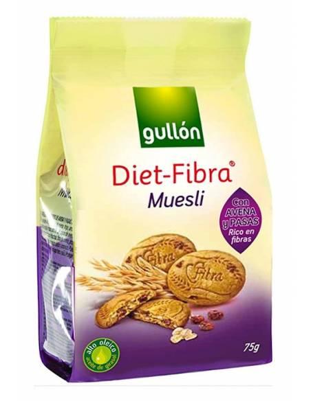 Diet-Fibra Muesli 75g Gullón