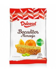 Collations à l'orange Dulcesol 70g