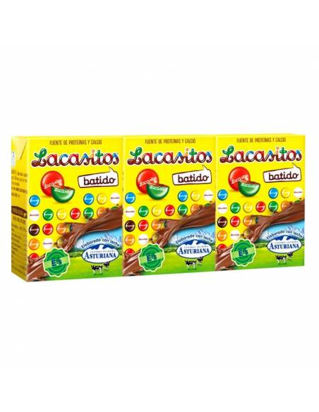 Batido Lacasitos 200ml Asturiana