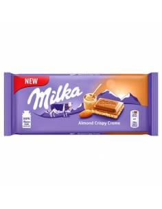 Milka Almond Crispy Creme 90g