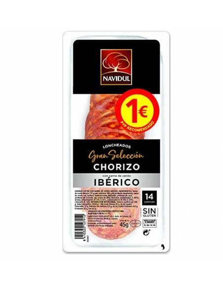 Chorizo Ibérico Gran Selección Navidul 45g