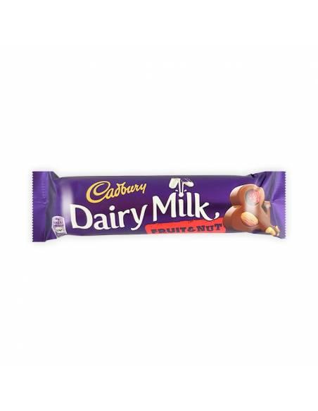 Cadbury Dairy Frutos y Almendra 49g