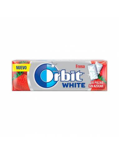 Orbit White Fresa 14g s/a