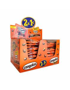Expositor Chocolatina Conguitos 23g + Conguitos Original 45g Lacasa