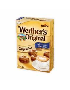 Caramelos Werther´s Cappuccino sin Azúcar 42g