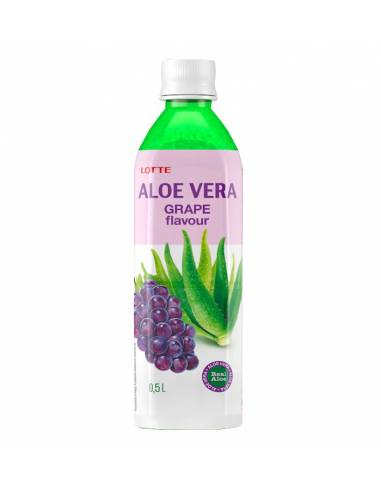 Bebida Aloe Vera Uva 500ml Lotte