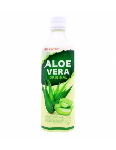 Bebida de Aloe Vera Original 500ml Lotte