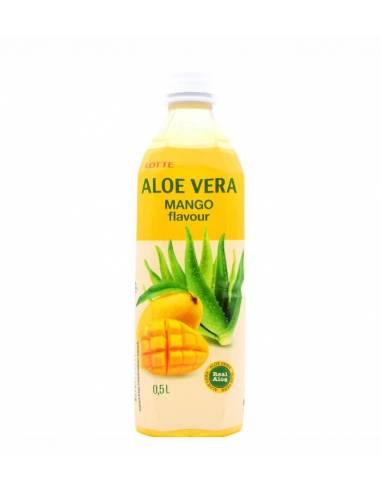 Bebida de Aloé Vera Manga 500ml Lotte