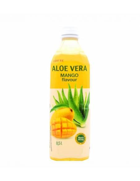Bebida de Aloe Vera Mango 500ml Lotte