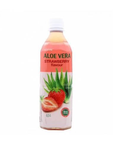 Bebidas Aloe Vera Fresa 500ml Lotte