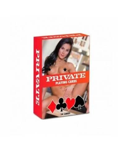 Cartas Eróticas Private Playing Cards