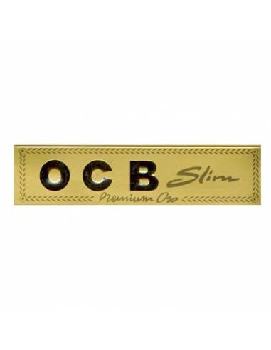 Papel Ocb Premium Gold Slim