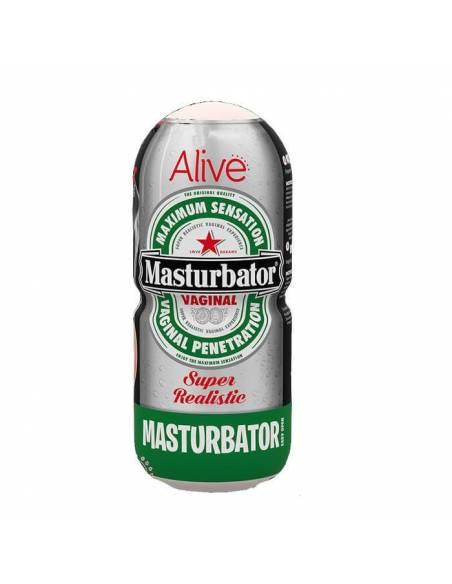 Masturbador Vagina Super Realístico Cerveza