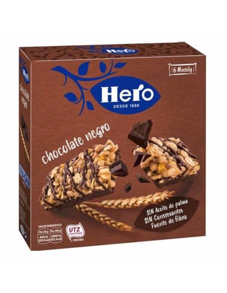 Barrita Muesly Chocolate Negro 23g Hero