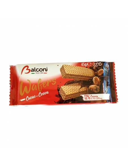 Wafers Cacao 45g Balconi