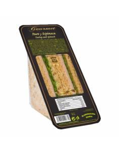 Sandwich Gourmet Pavo y Espinaca 160g