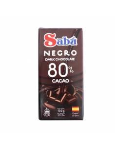 Chocolate Negro 100g Sabú