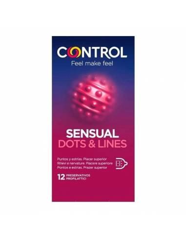 Control Sensual Dots & Lines 12 pcs.