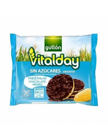 Tortita Maíz con Chocolate Negro S/A 100g Vitalday (8x4x25g)