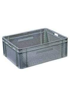 Boîte en plastique perforée