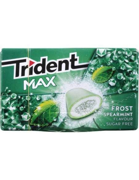 Trident Max Chewing-gum Menthe poivrée